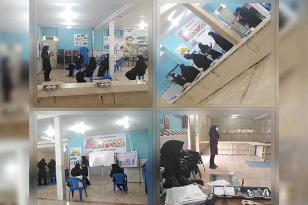 برگزاری مسابقات تیراندازی بانوان شهرستان نجف آباد