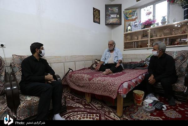 تصاویر عزاداری در کوچه شهید حججی