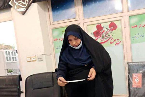 راهیابی نخستین زن به شورای شهر گلدشت