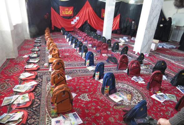 مشق احسان در نجف آباد