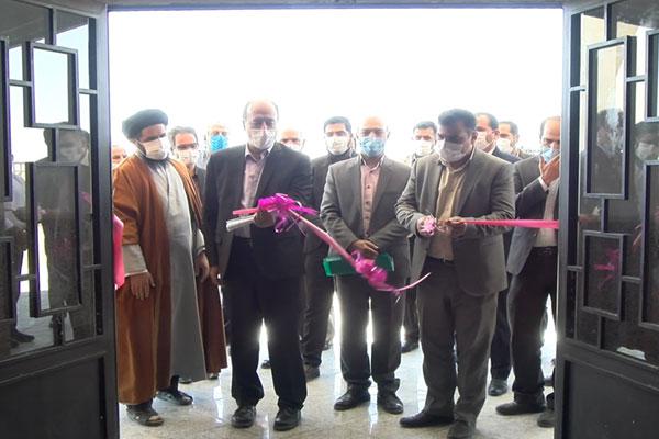افتتاح دفتر ثبت اسناد بخش مهردشت