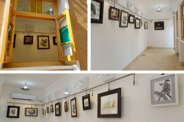 برگزاری نمایشگاه نقاشی در نجف آباد