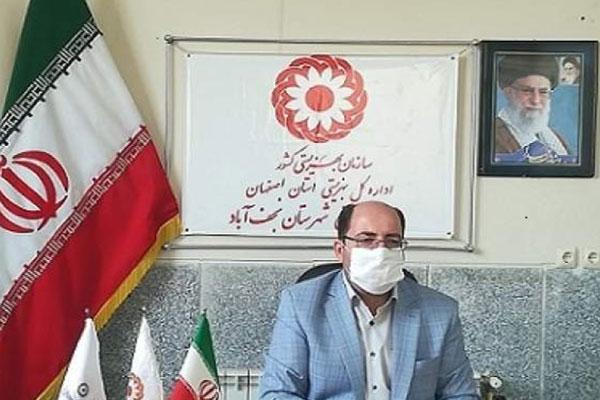 ثبت ۹۱۴مراجعه به اورژانس اجتماعی نجفآباد