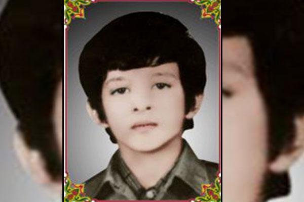 شهید بابک سرمدی کوچکترین شهید نجف آباد
