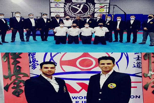قضاوت-دو-داور-نجف-آباد-در-مسابقات-کاراته-قهرمانی-استان-اصفهان