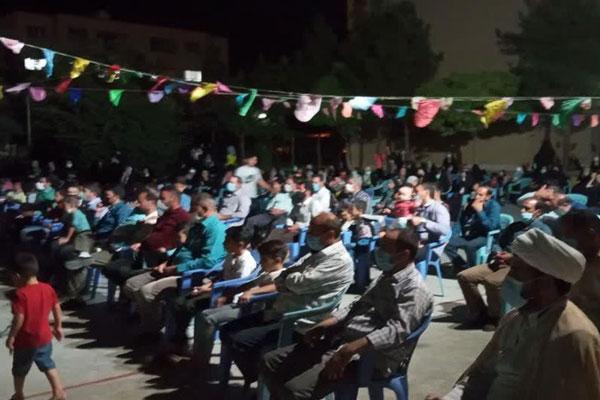 مهمانی در جوار شهدا نجف آباد