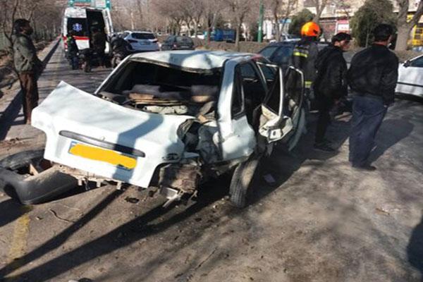 ۶-مصدوم-در-حادثه-تصادف-کمربندی-شمالی-نجفآباد