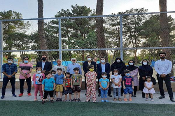 برگزاری فستیوال بازی و ورزش کودکان