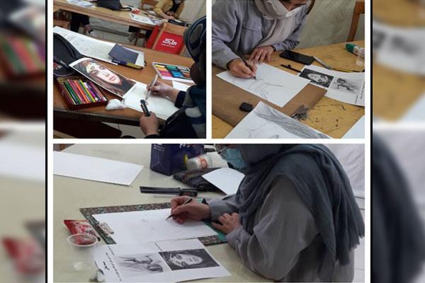برگزاری مرحله عملی آزمون جامع استانداردهای مهارتی کار و دانش نجف آباد
