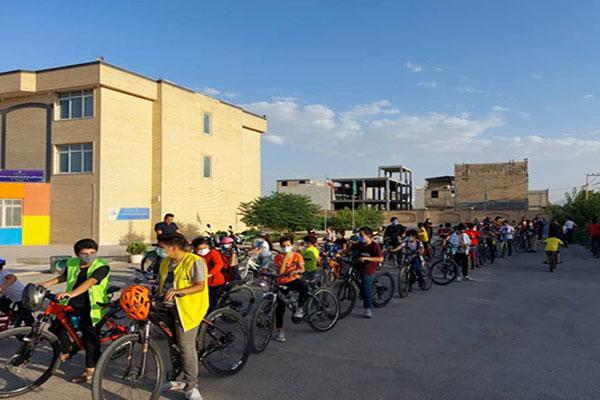 برگزاری همایش دوچرخه سواری