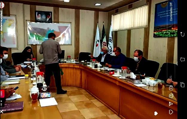 جلسه شورای شهر نجف آباد