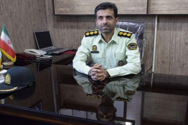 معرفی فرمانده جدید انتظامی نجف آباد