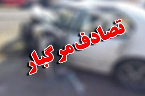 واژگونی-مرگبار-پژو-پارس-در-کمربندی-نجف-آباد-به-خمینی-شهر