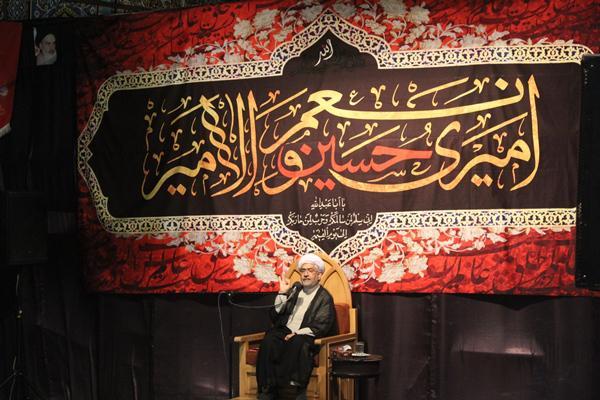 سخنرانی شب اول حجت الاسلام دهنوی مسجد قبا ویلاشهر